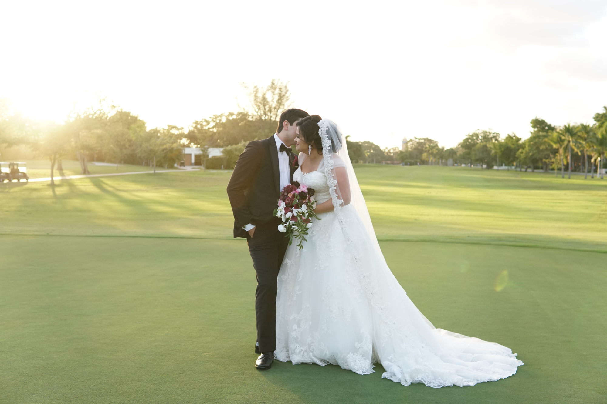 Laura and Gio's Coral Gable Country Club Wedding